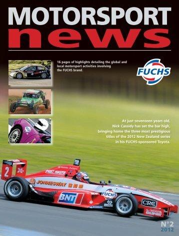 MOTORSPORT News - fuchs petrolub ag