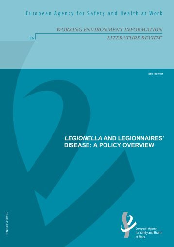 Legionella and Legionnaires' disease: a policy overview - European ...