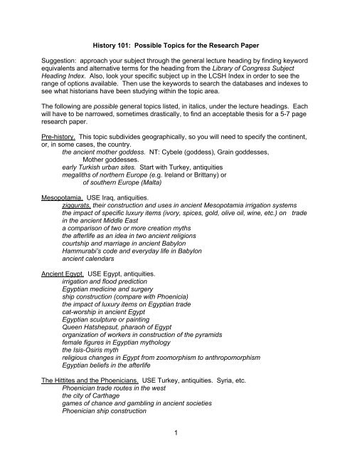 Fahrenheit 451 Essay Thesis  Topics For An Essay Paper also Essays Written By High School Students History  Possible Topics For The Research Paper How To Write A Thesis Statement For A Essay