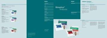 Simplex® Antibiotic - Isulmed