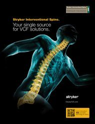 Your single source for VCF solutions. - Stryker