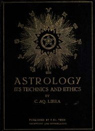 ASTROLOGY - The Knowledge Den