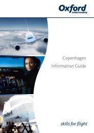 Copenhagen Information Guide - Oxford Aviation Academy