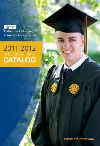 Undergraduate Catalog - UMUC Europe