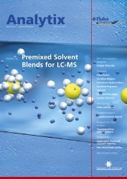 Premixed solvent blends for lc-ms
