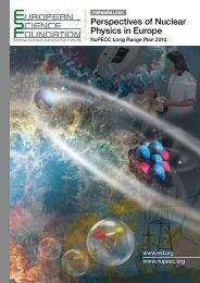 Perspectives of Nuclear Physics in Europe