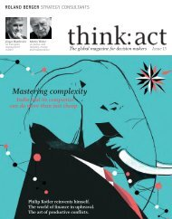 think: act magazine - issue 15 - Roland Berger