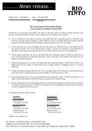 Download pdf file - Rio Tinto