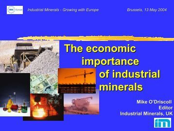 the importance of the mining industry in canada The importance of mining industry the importance of mining is definitely significant to canada mining, is an important industry, and canadians are very advanced in.