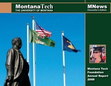 MNews December 2006 - Montana Tech of the University of Montana