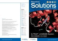 Issue 4 Summer 2002 - Applied Biosystems