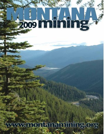 2009 Montana Mining - Montana Mining Association