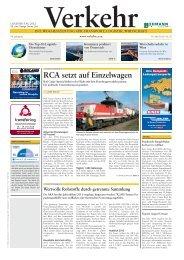 Die Top-10-Logistik-Dienstleister Österreichs - Verkehr