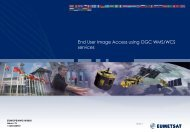 EO Portal - End User Image Access Using OGC - Open Geospatial ...