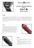 Original-Lederuhrarmbänder - Eulit.de - Seite 2
