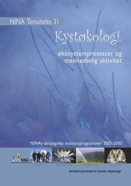 Kystøkologi : økosystemprosesser og menneskelig aktivitet - NINA