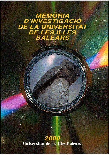 memòria d'investigació 2000 - Universitat de les Illes Balears