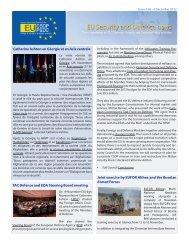 CSDP e-newsletter (issue 66) - Europa