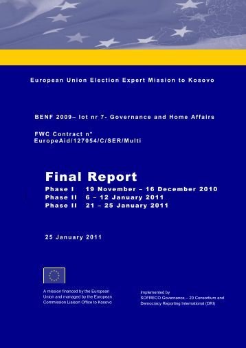 TABLE OF CONTENT - the European External Action Service