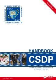 Handbook on CSDP - 2nd edition - Europa