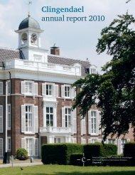 Clingendael annual report 2010