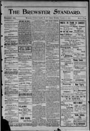 STANDARD - Northern New York Historical Newspapers