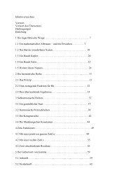 Inhaltsverzeichnis Vorwort Vorwort des Übersetzers Danksagungen ...