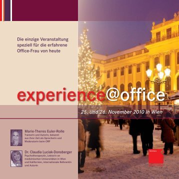 experience@office - OFFICE SEMINARE