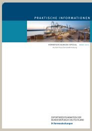 Hermesdeckungen spezial: Ausfuhr-Pauschal-Gewährleistung (APG)