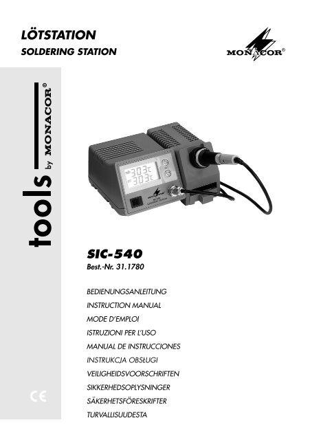 Saldatore Monacor SIA-540 Monacor SIA-540