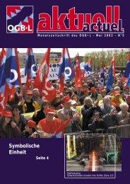 Symbolische Einheit - OGBL