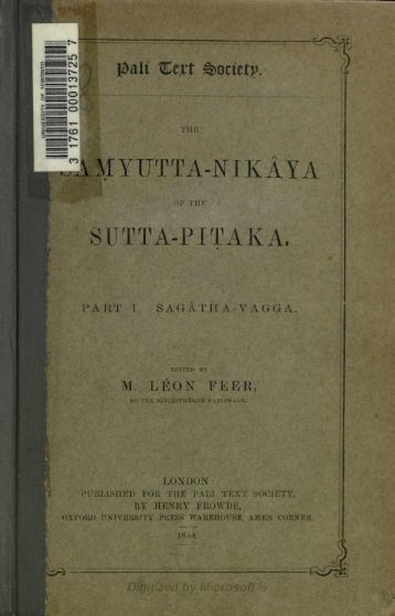r^j J-.1MYTJTTA-NIKAYA - Index of