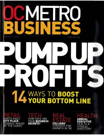 """Pump Up Your Profits"" (PDF 750KB) - Developers Research"