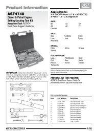 AST4740 - Smarttools