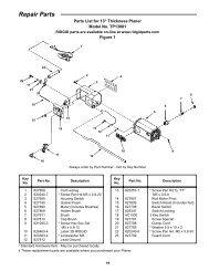 Repair Parts - eReplacementParts.com