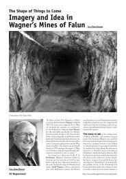 Imagery and Idea in Wagner's Mines of Falun Text - Suomen ...