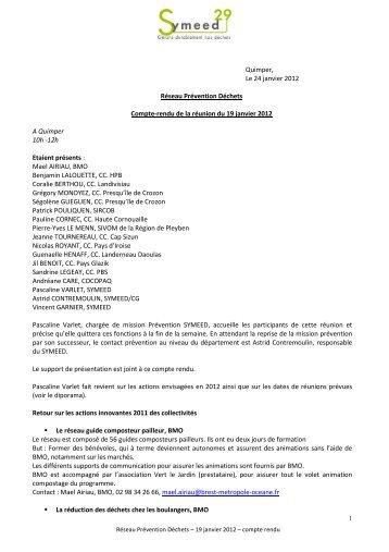 CR Rencontre réseau 19 janvier 2012 (pdf - 326 - Symeed