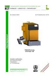 Pelletsfeuerung ETA Hack 130
