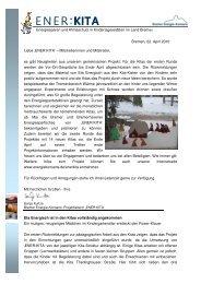 ENER:KITA Infobrief Nr. 3 - Bremer Energie-Konsens