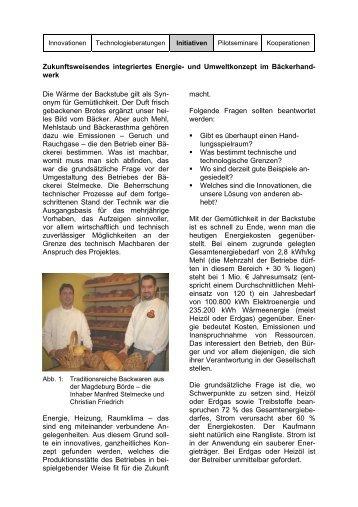 Zukunftsweisendes integriertes Energie- und Umweltkonzept ... - HPI