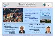 Agenda 21 - GGSC Seminare