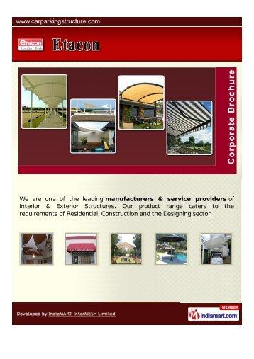Etacon, Gurgaon - Supplier & Manufacturer of Tensile Structures ...