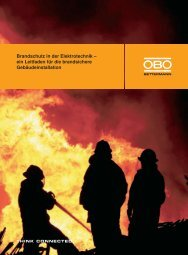 Brandschutz in der Elektrotechnik - ESL Elektro- Service ...