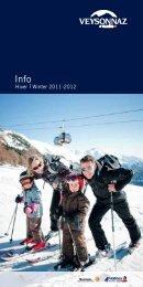 Brochure hiver 2011-2012 - Veysonnaz