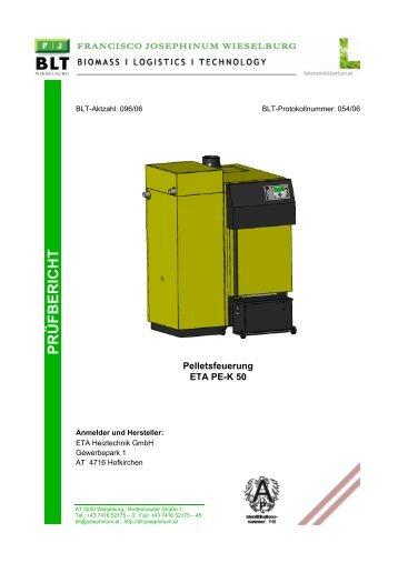 Pelletsfeuerung ETA PE-K 50