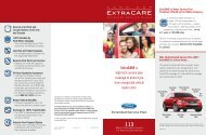 Ford Extra Care | Ford ESP - Extended Service Plans | Official Ford ...