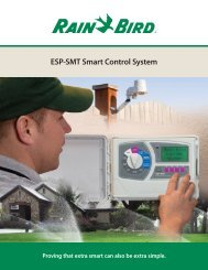 ESP-SMT Smart Control System - Rain Bird