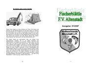 Fischerblättle 1/2007 - Fischereiverein Altenstadt eV