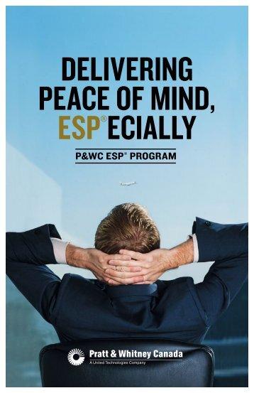 Tell Me About ESP - Pratt & Whitney Canada