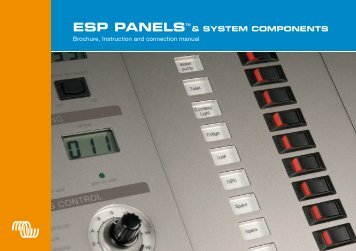 ESP Panel System brochure and manual - Victron Energy